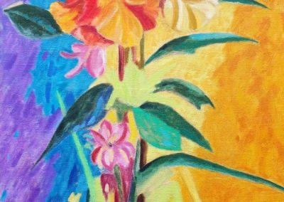 flowers-I-huile-sur-toile-100-cm-x-50-cm