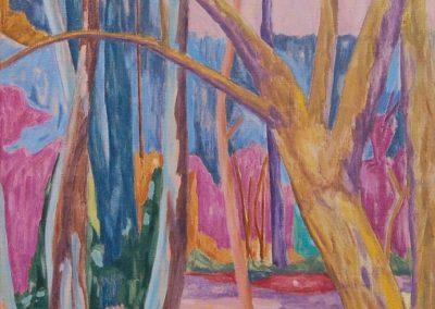 Forest XXII Huile sur toile 92 cm x 60 cm
