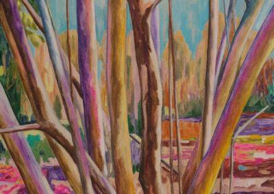 Forest XXIII 116 cm x 81 cm Huile sur toile
