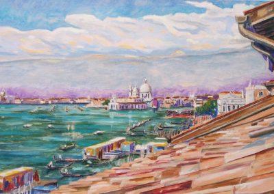 Venise I Huile sur toile 92 cm x 65 cm
