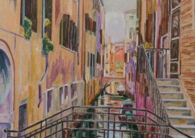 Venise III Huile sur toile 65 cm x 92 cm