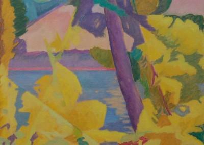 Landscape I / Huile sur toile / Dimensions 116 cm x 81 cm